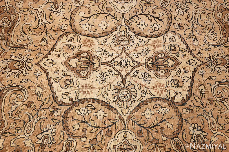 antique persian kerman rug 50147 white Nazmiyal