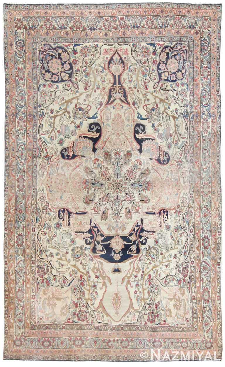 Antique Persian Kerman Rug Circa 1880 50106 Nazmiyal