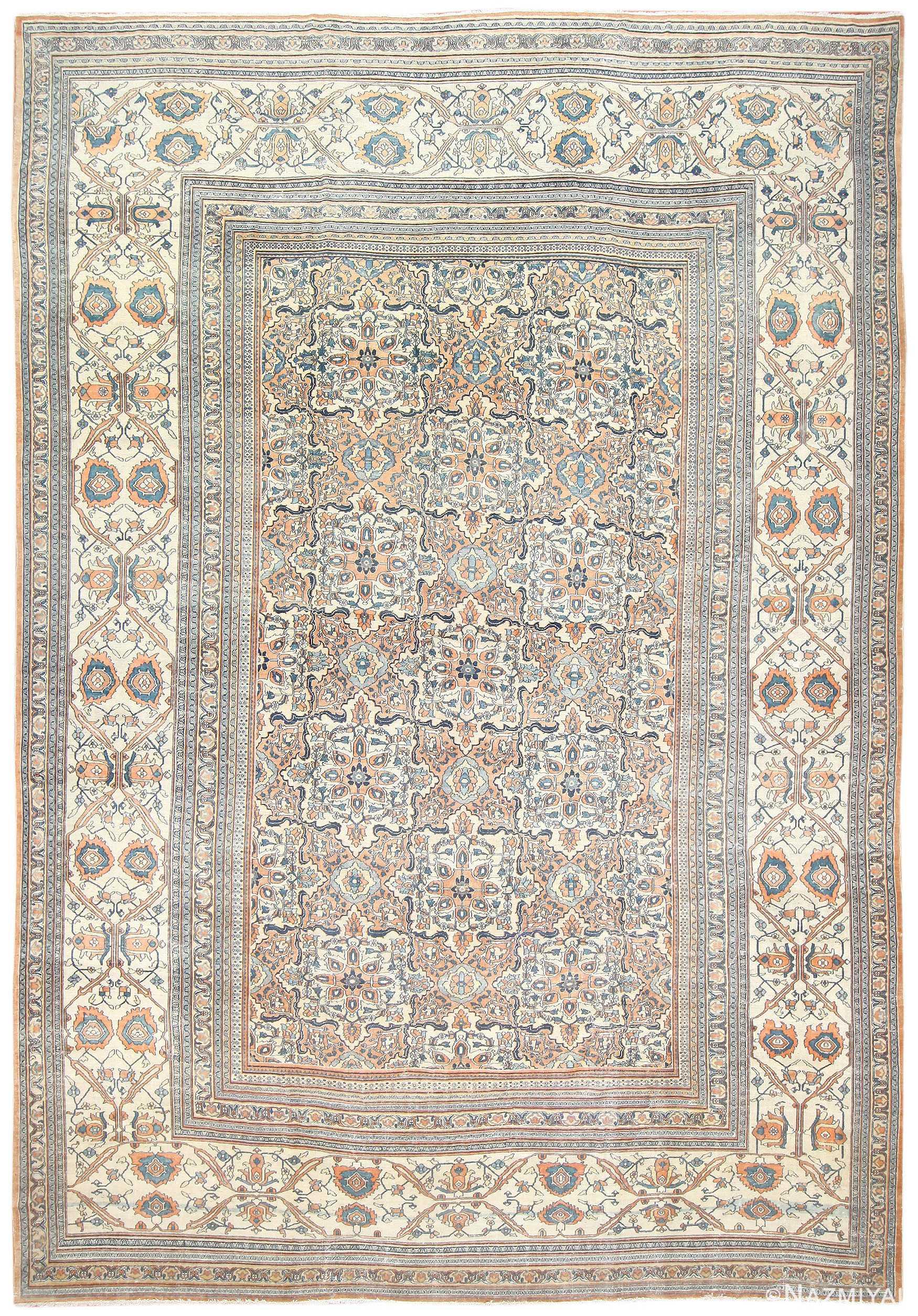 Antique Persian Khorassan Carpet 50017 Large Image