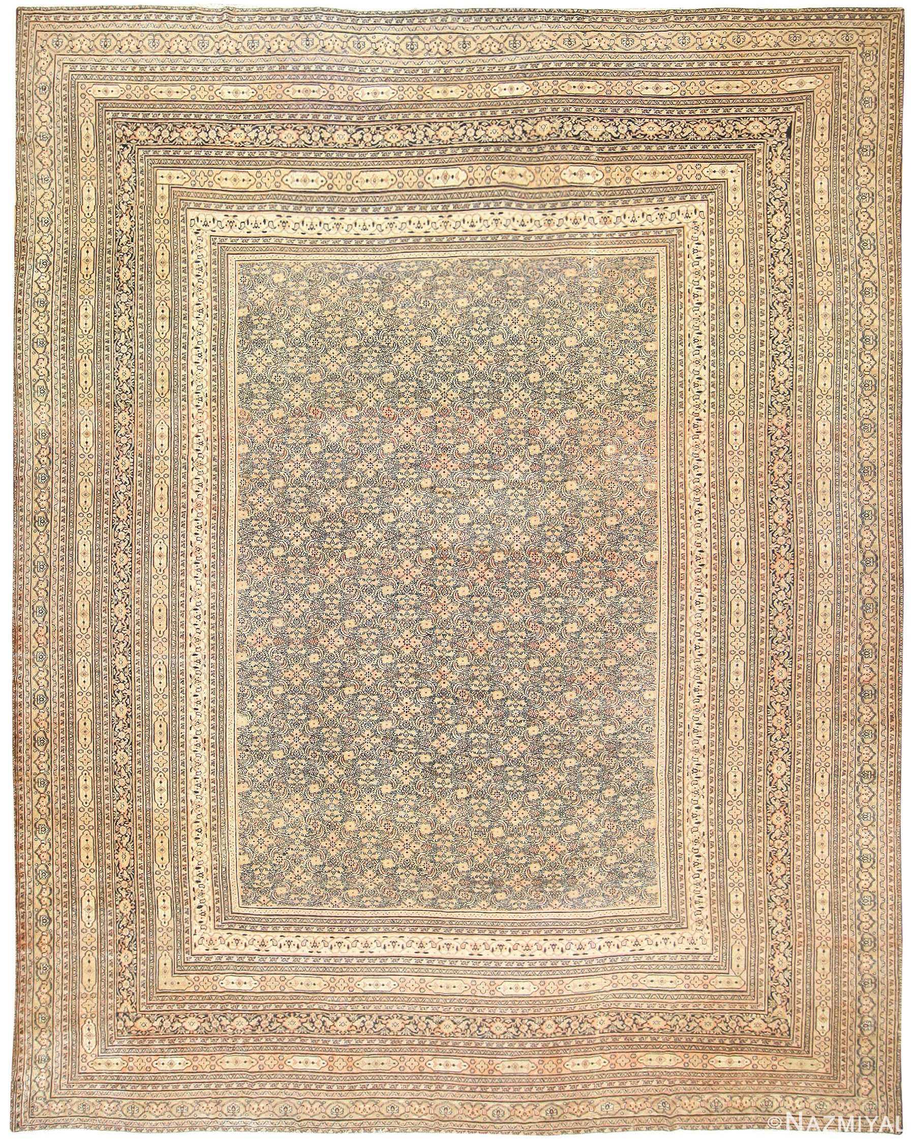 Antique Persian Khorassan Carpet 50063 Nazmiyal