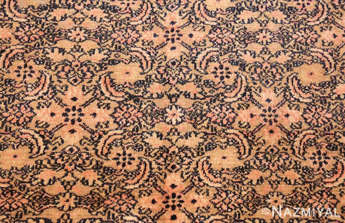 antique persian khorassan carpet 50063 flower Nazmiyal