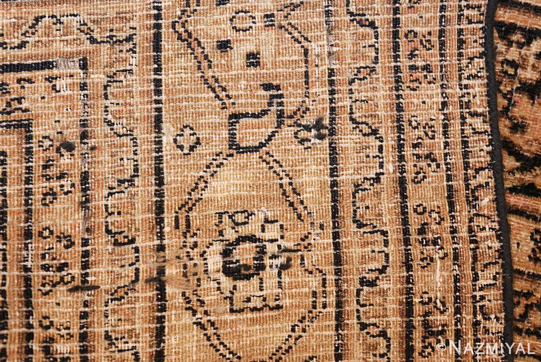 antique persian khorassan carpet 50063 weave Nazmiyal