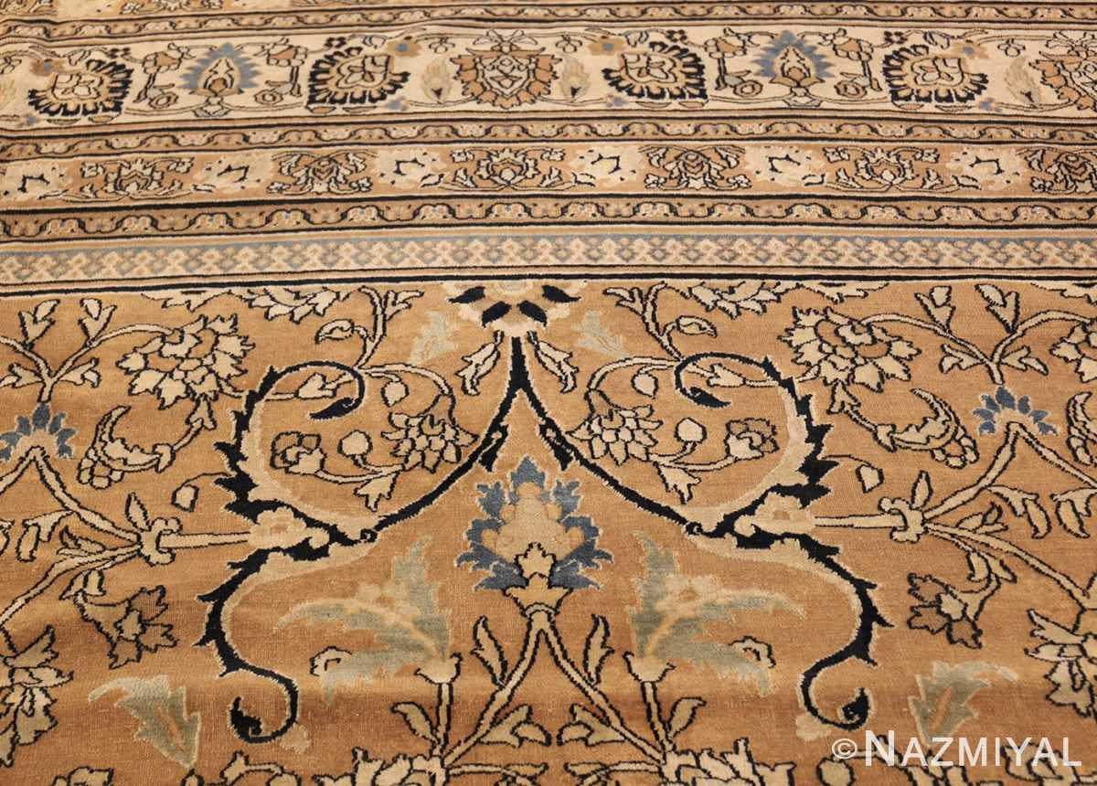 antique persian khorassan carpet 50072 blue Nazmiyal