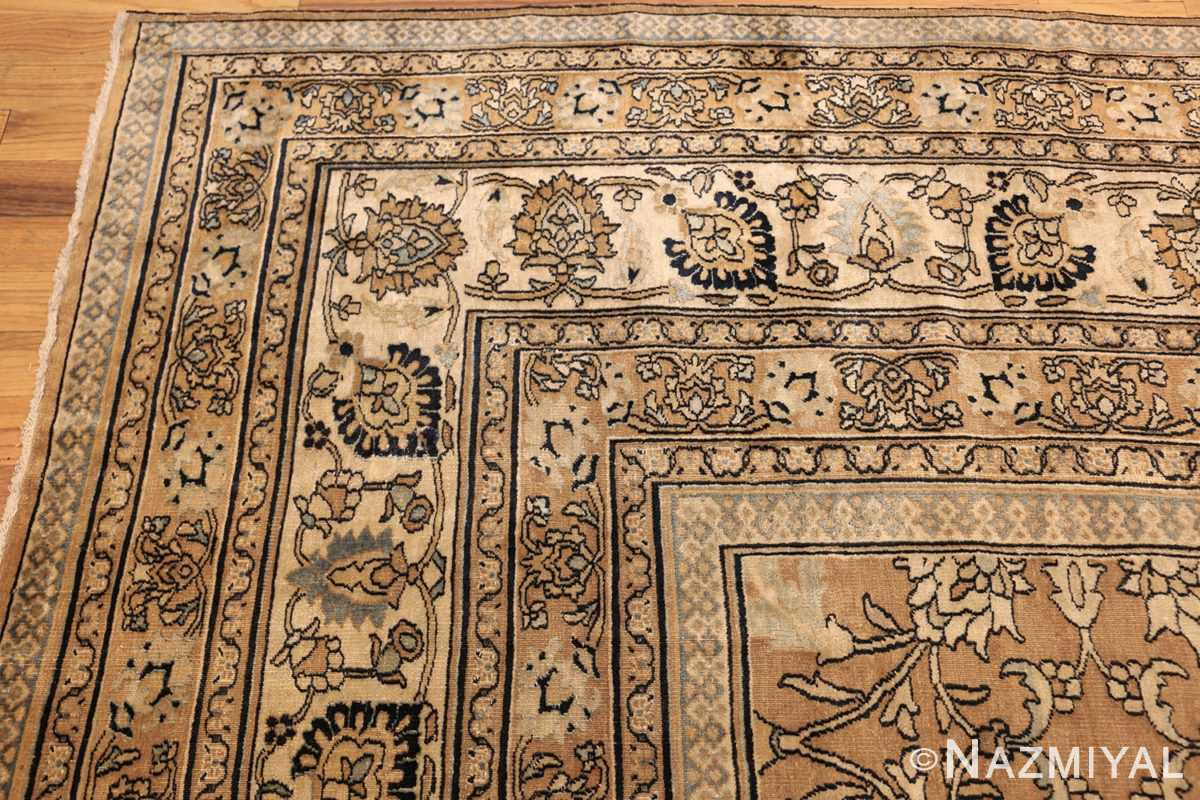 antique persian khorassan carpet 50072 corner Nazmiyal