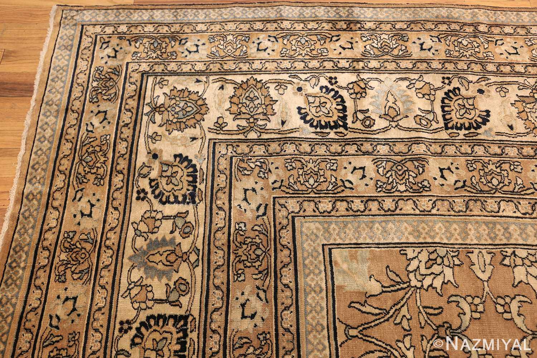 antique persian khorassan carpet 50072 corner Nazmiyal