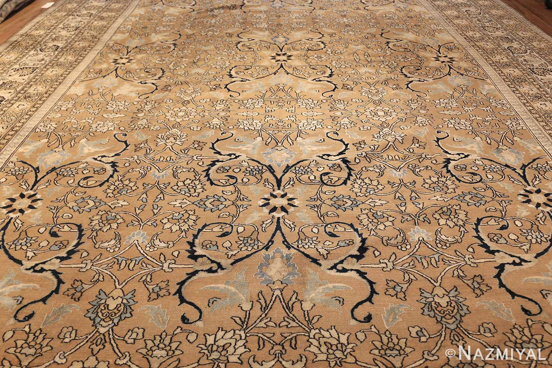 antique persian khorassan carpet 50072 field Nazmiyal