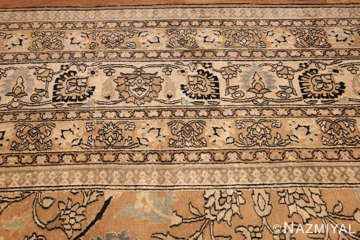 antique persian khorassan carpet 50072 top Nazmiyal