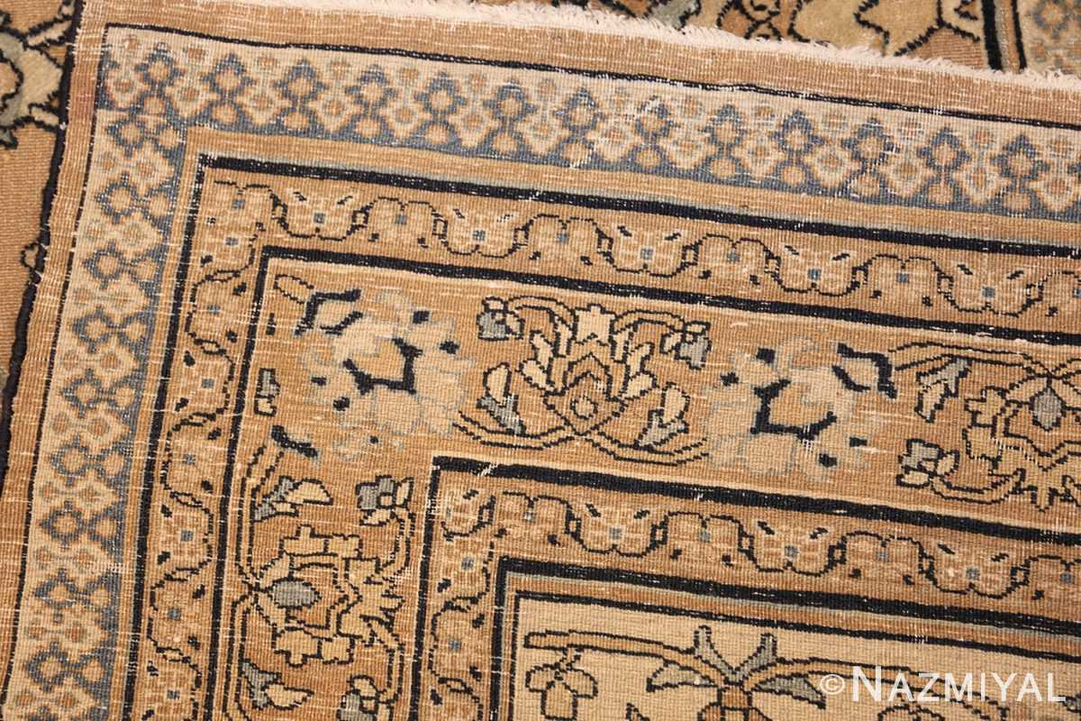 antique persian khorassan carpet 50072 weave Nazmiyal