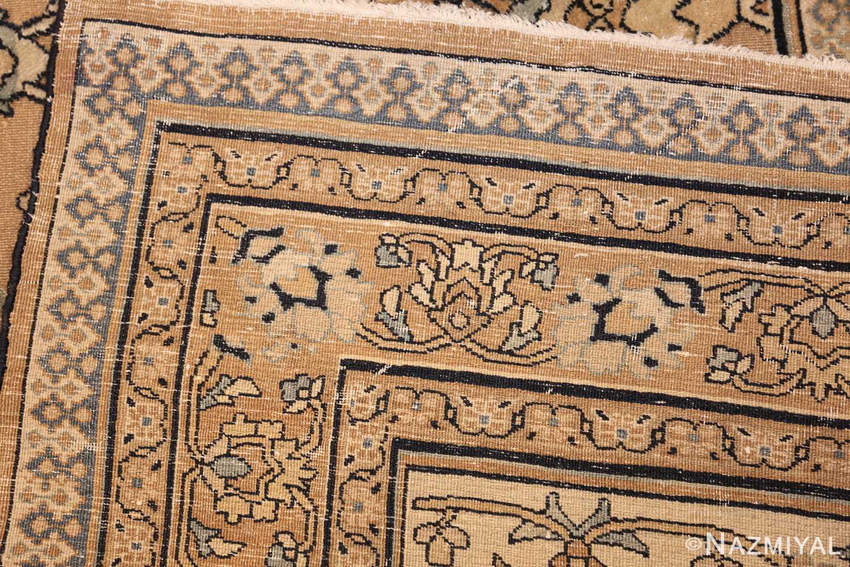 antique persian khorassan carpet 50072 weave Nazmiyal