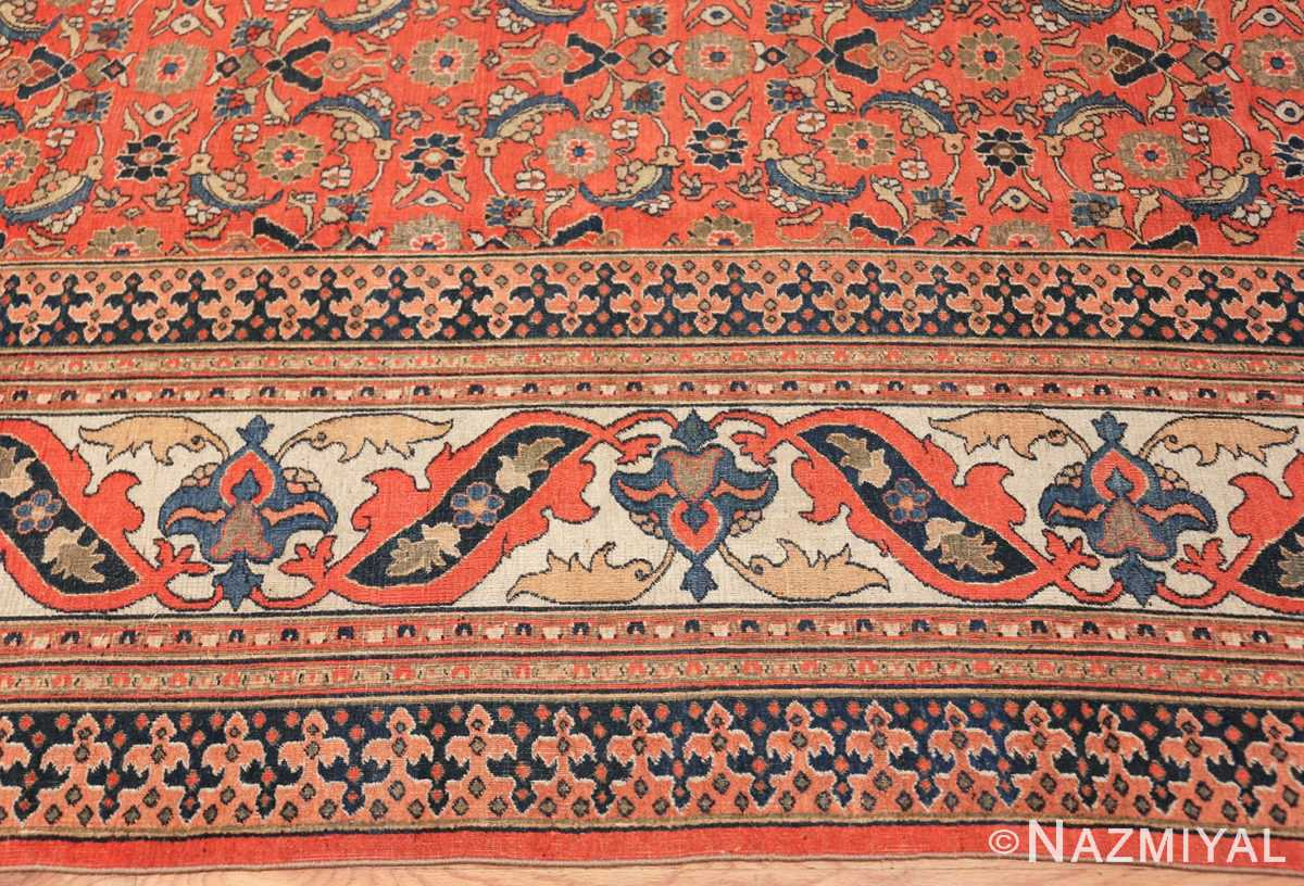 antique persian khorassan carpet 50083 border Nazmiyal