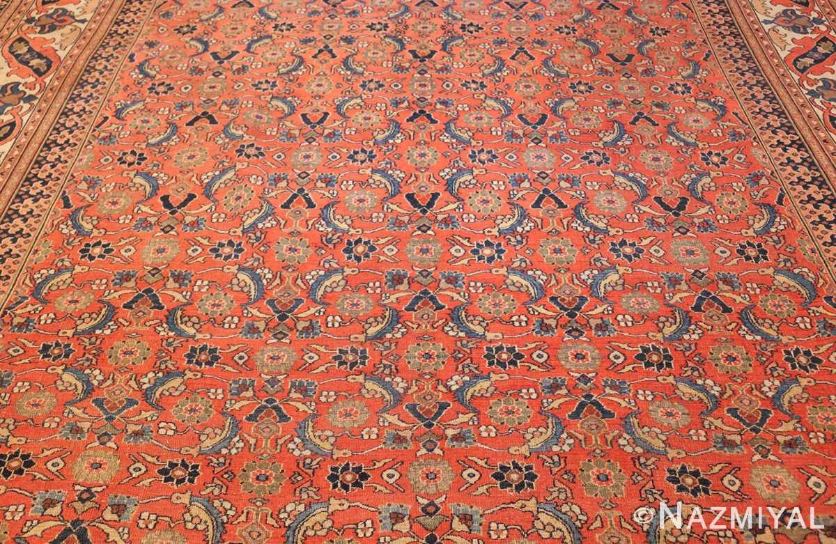 antique persian khorassan carpet 50083 center Nazmiyal