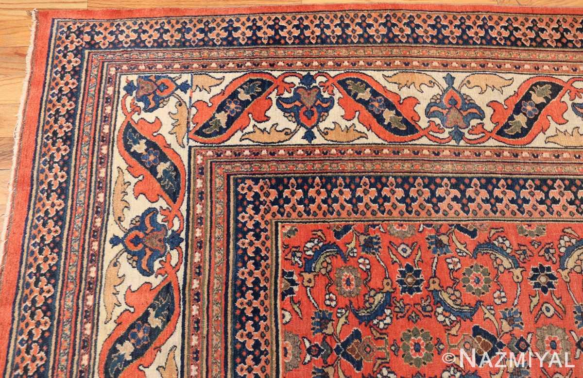 antique persian khorassan carpet 50083 corner Nazmiyal