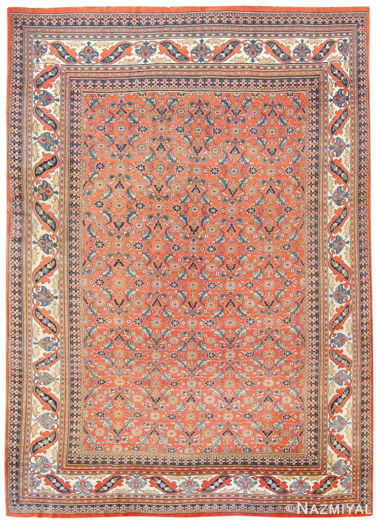 Antique Persian Khorassan Carpet 50083 Nazmiyal