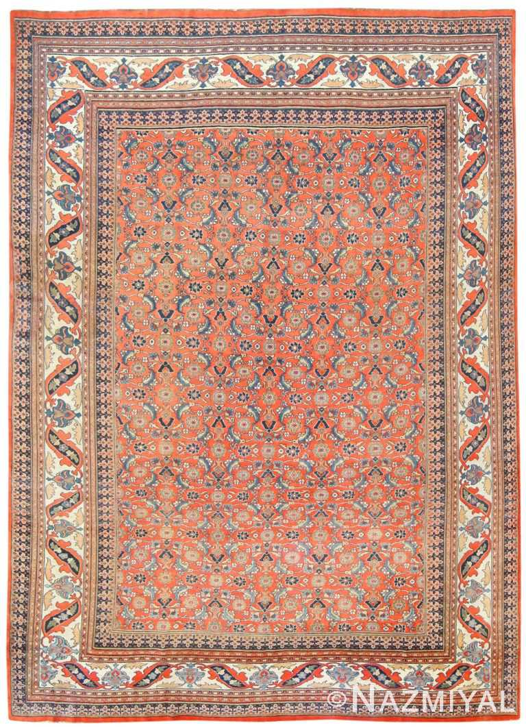 Antique Persian Khorassan Carpet 50083 Nazmiyal