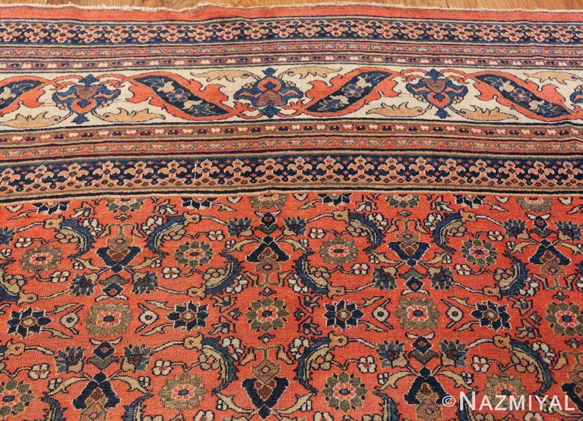 antique persian khorassan carpet 50083 top Nazmiyal
