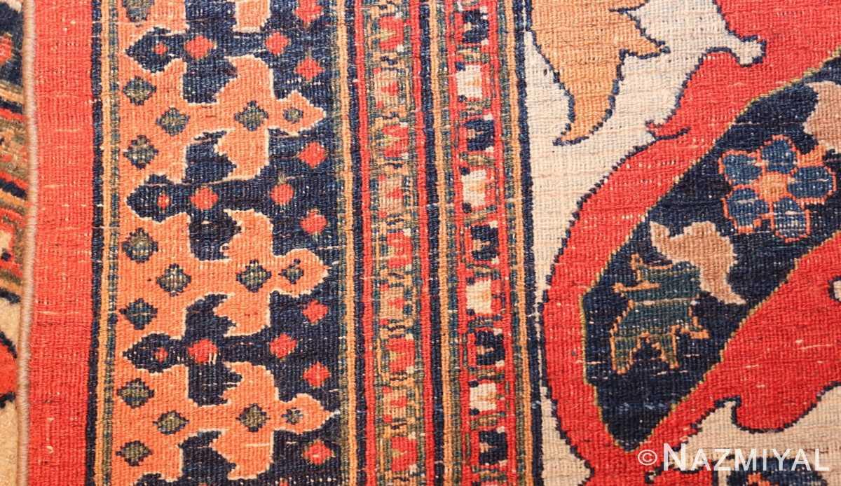 antique persian khorassan carpet 50083 weave Nazmiyal
