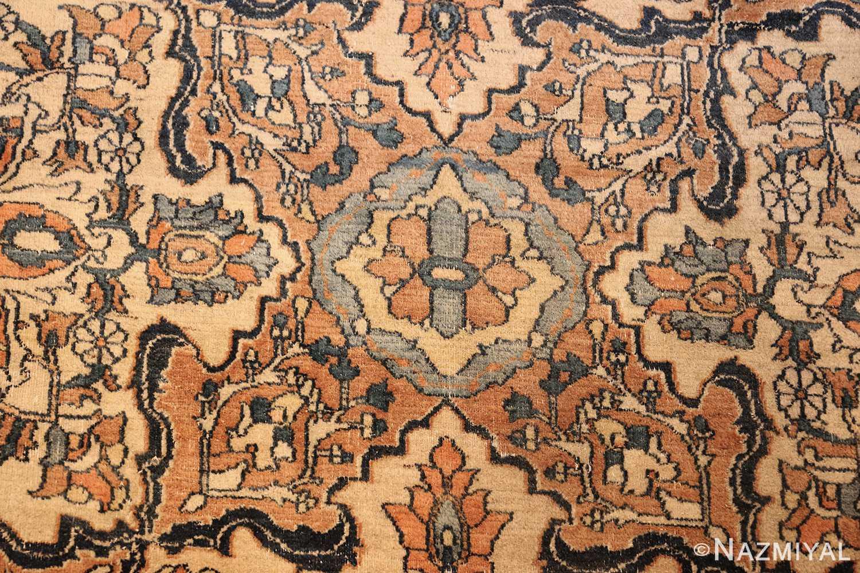 antique persian khorassan carpet 50117 design Nazmiyal