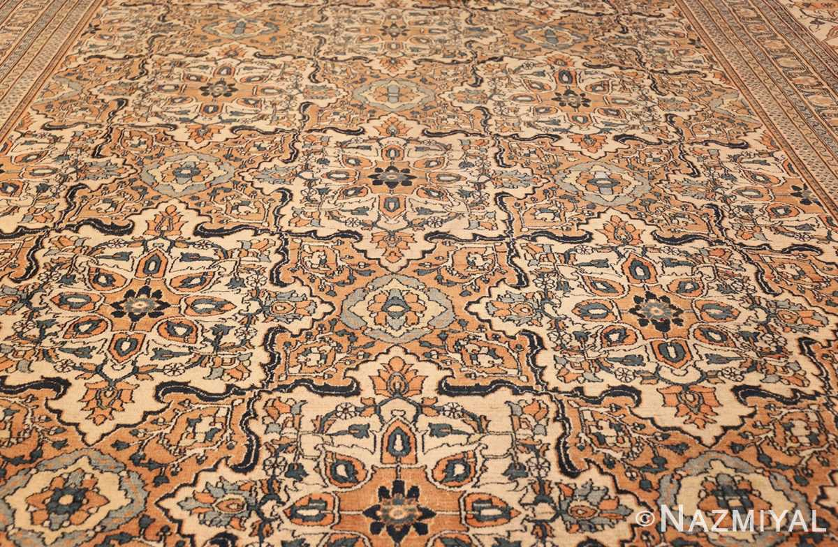 antique persian khorassan carpet 50117 field Nazmiyal