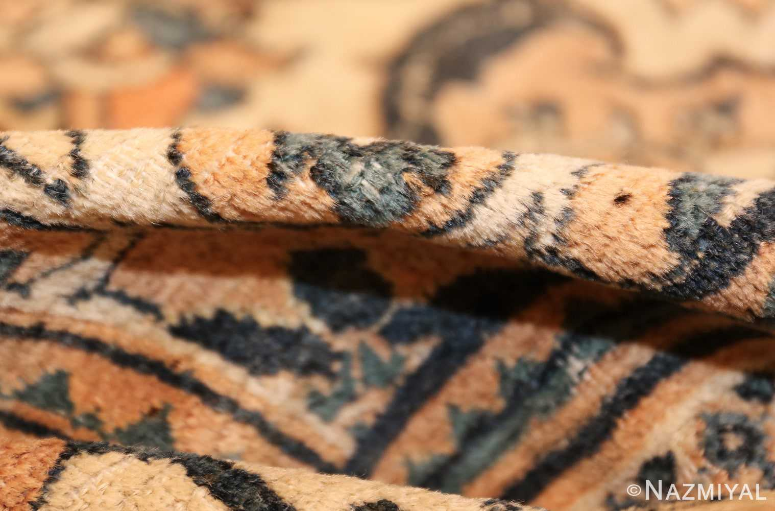 antique persian khorassan carpet 50117 pile Nazmiyal