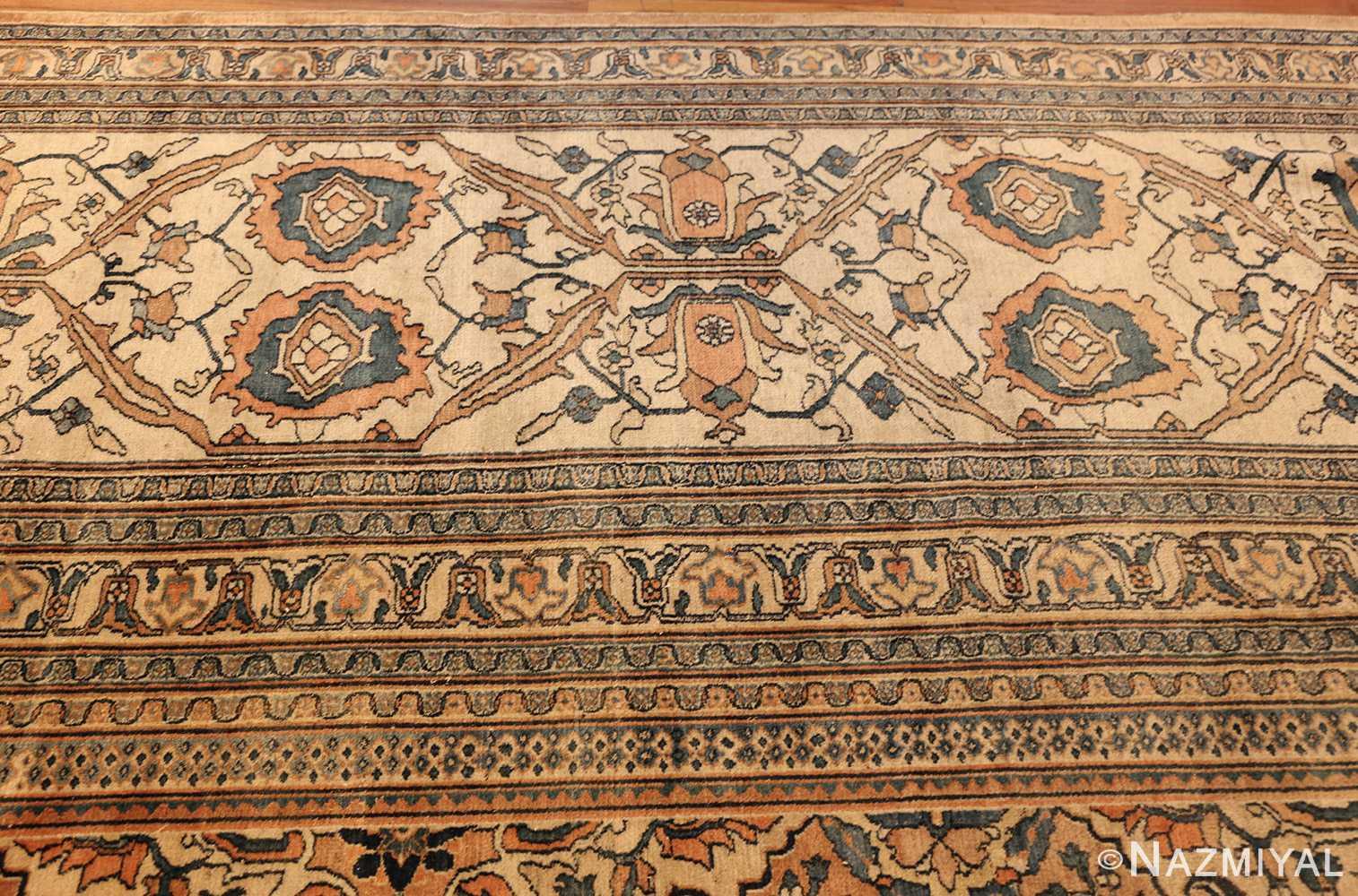 antique persian khorassan carpet 50117 top Nazmiyal