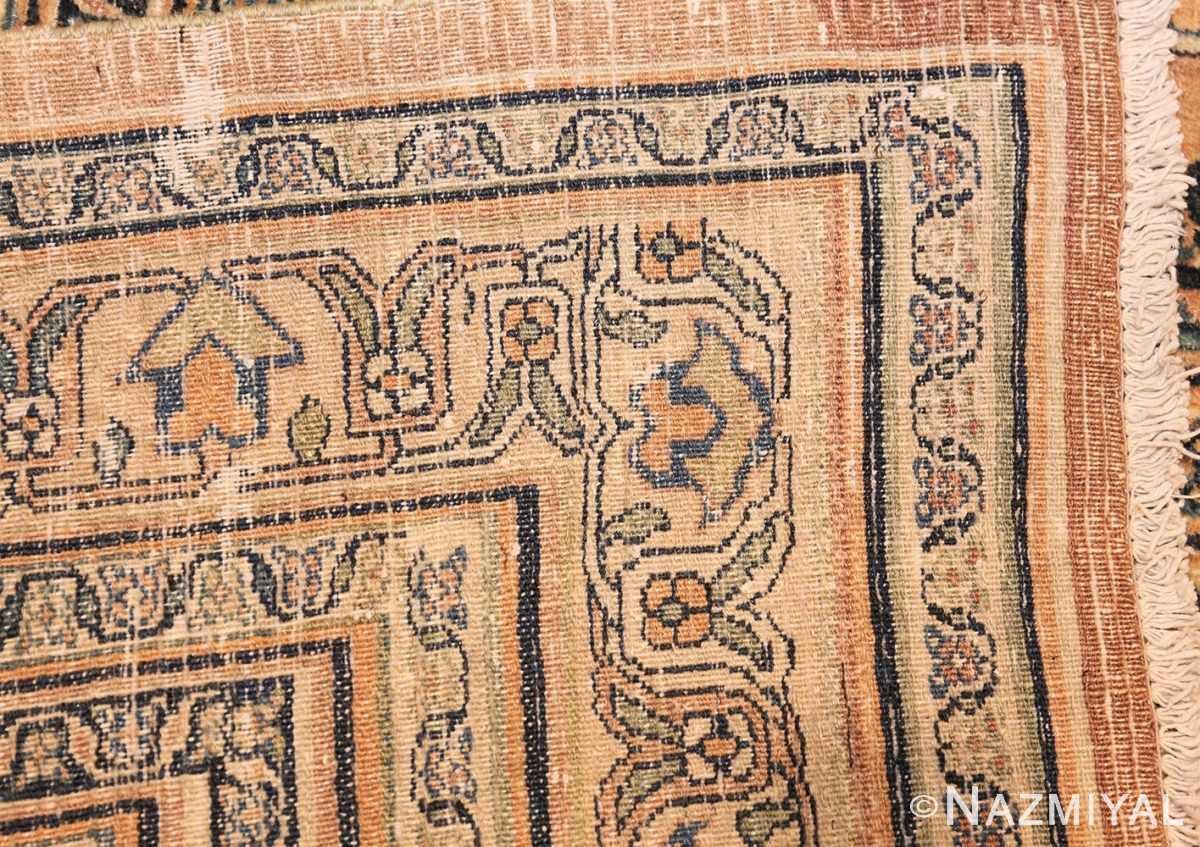 antique persian khorassan carpet 50117 weave Nazmiyal