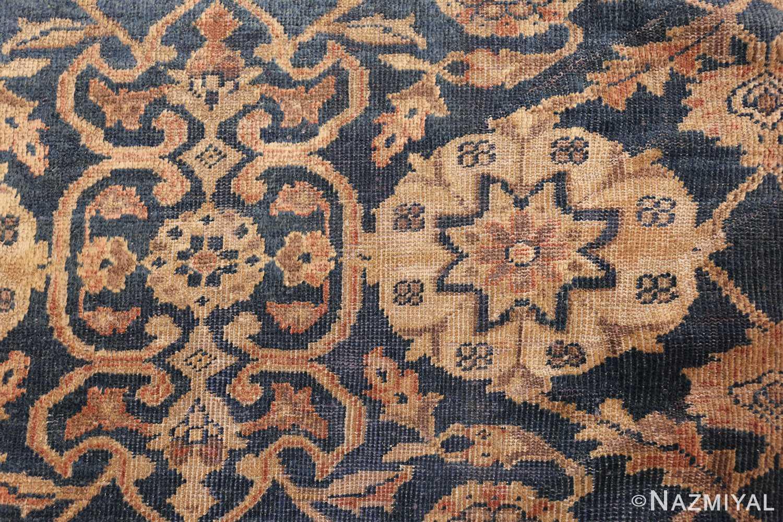 antique persian large size sultanabad rug 50078 closeup Nazmiyal