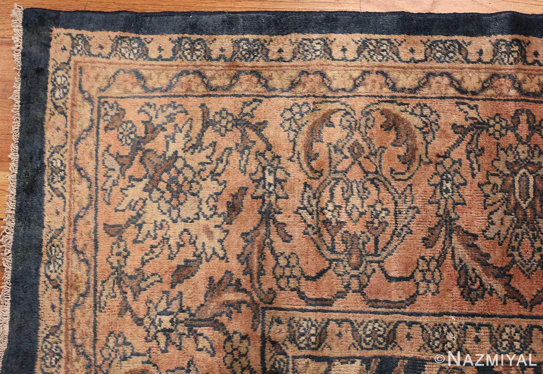 antique persian large size sultanabad rug 50078 corner Nazmiyal