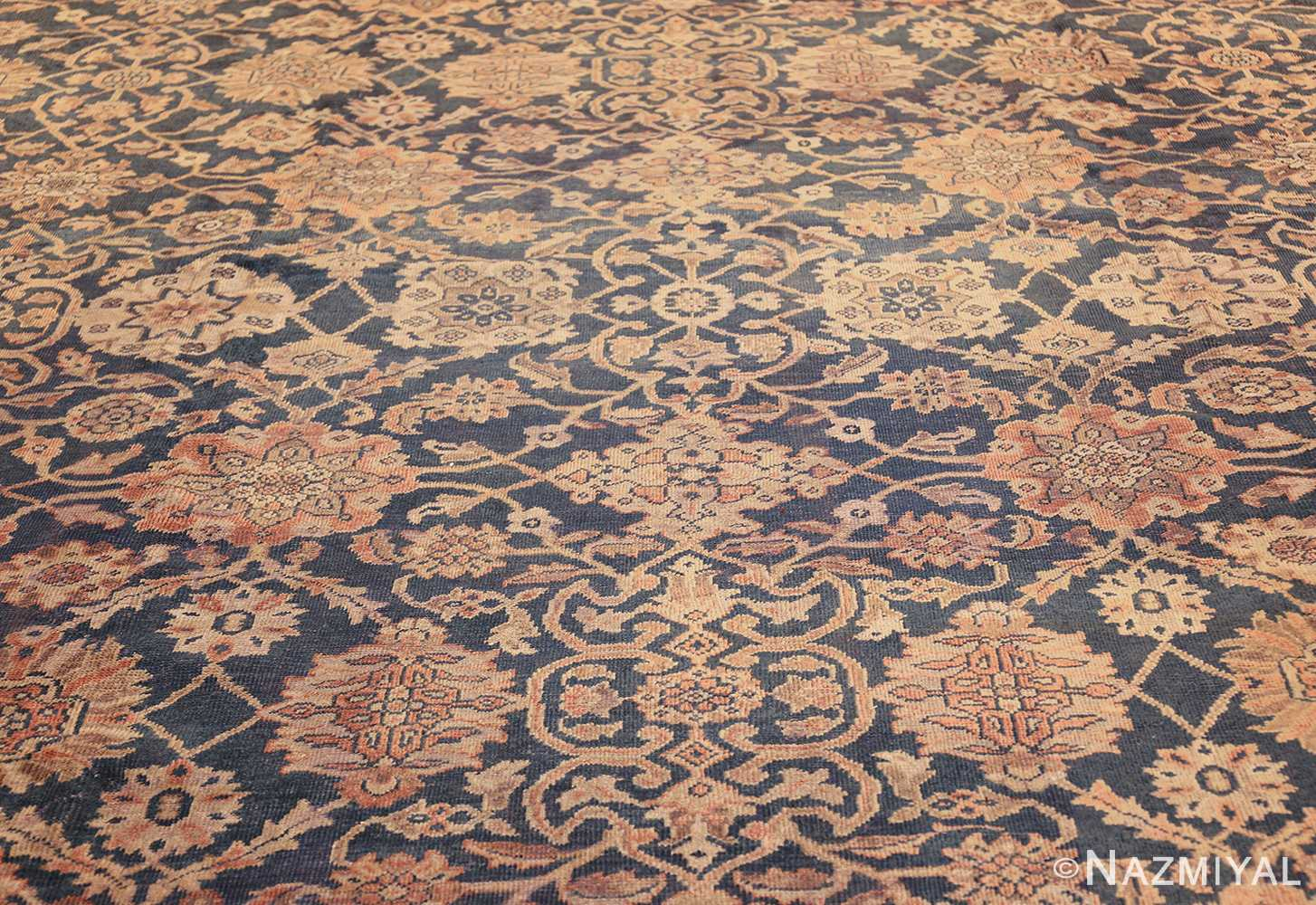 antique persian large size sultanabad rug 50078 field Nazmiyal