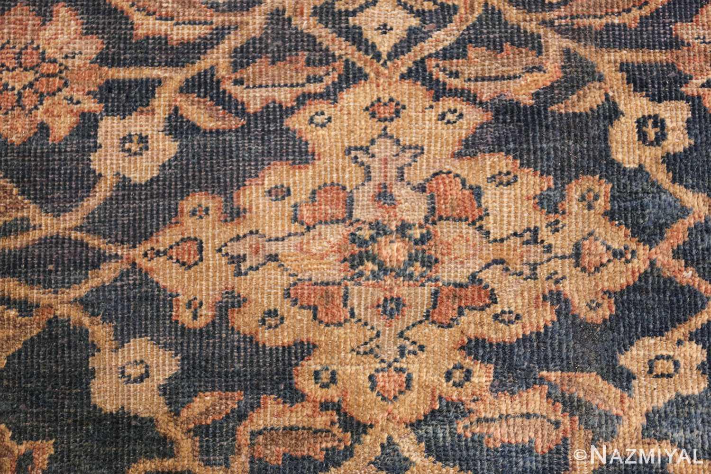 antique persian large size sultanabad rug 50078 flower Nazmiyal