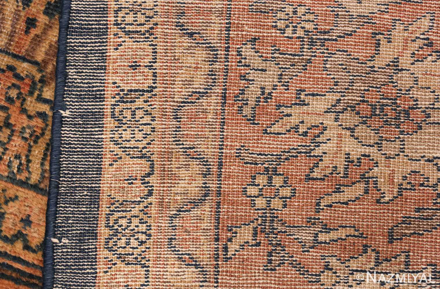 antique persian large size sultanabad rug 50078 weave Nazmiyal