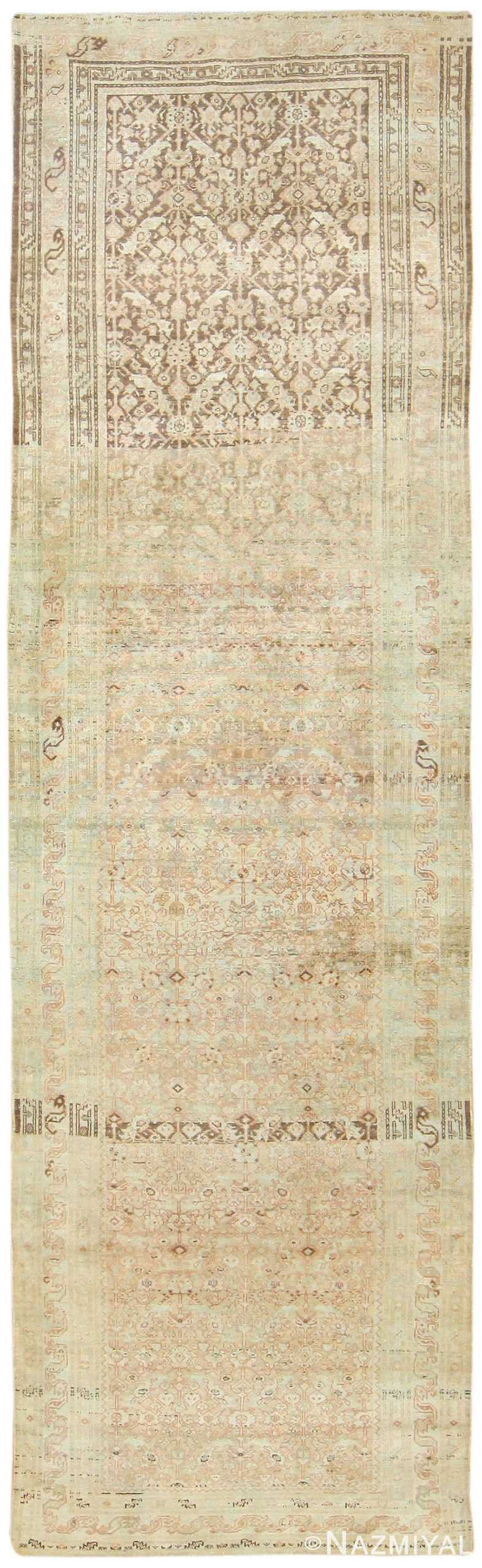 Antique Persian Malayer Runner 48308 Nazmiyal