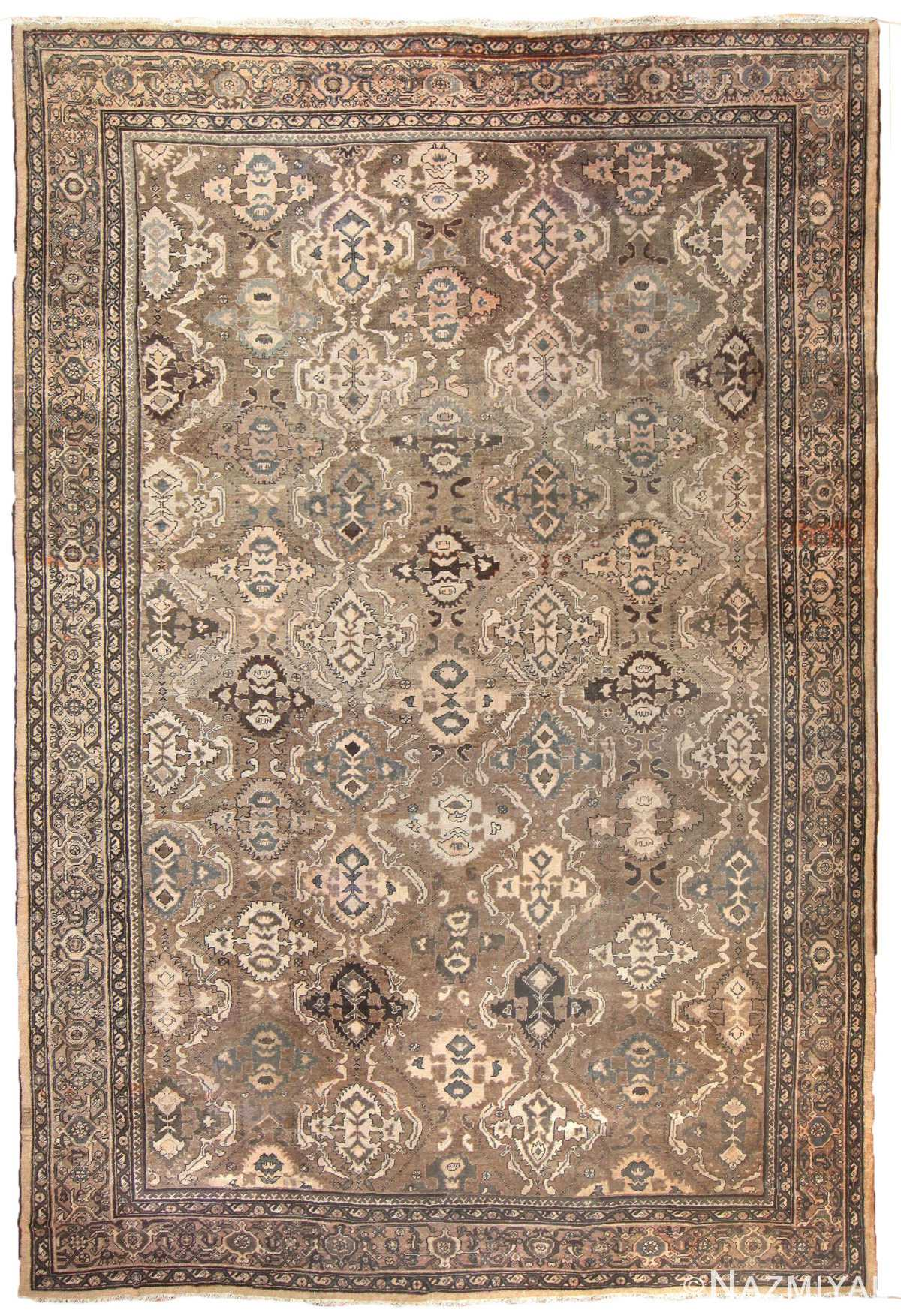 Antique Persian Sultanabad Rug 50060 Nazmiyal