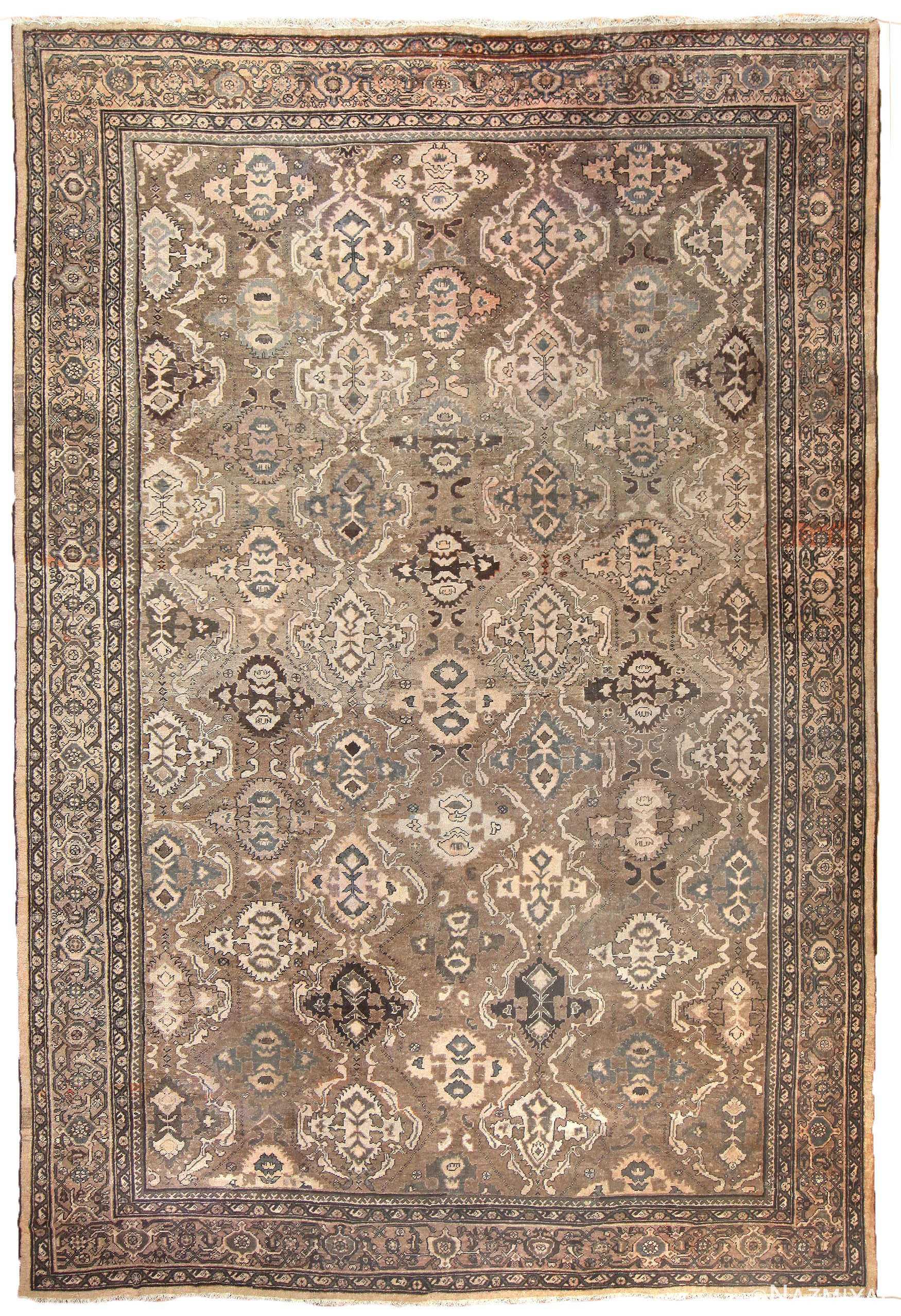 Antique Persian Sultanabad Rug 50060 Nazmiyal
