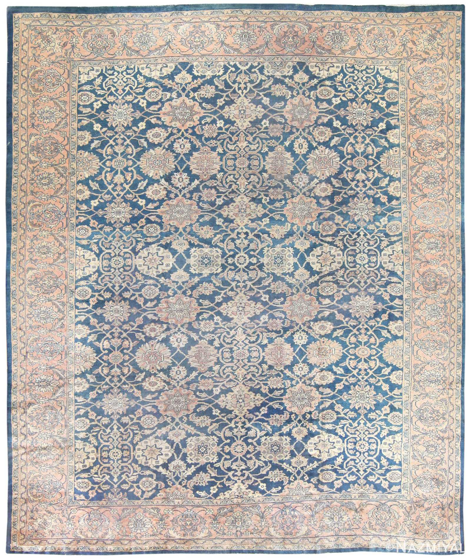 Vintage Persian Rugs: Large Antique Persian Sultanabad Rug 50078 By Nazmiyal