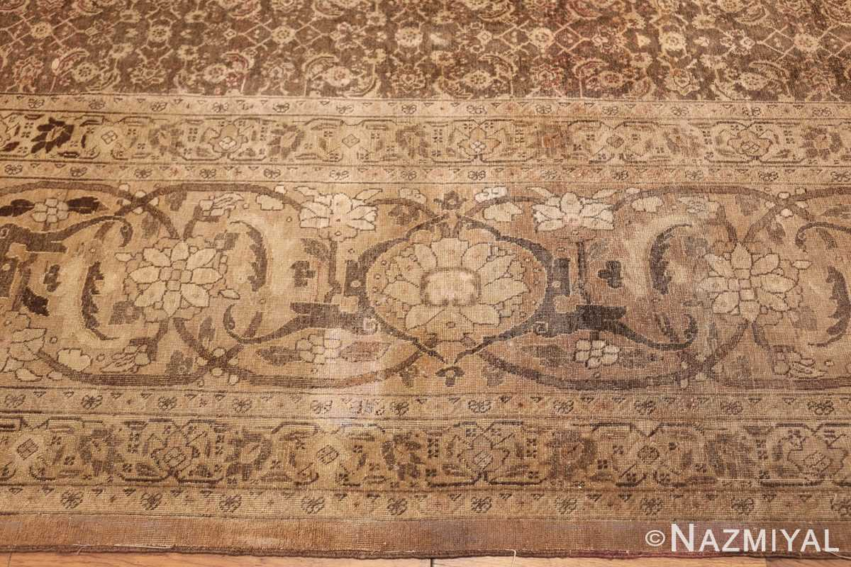 antique persian tabriz rug 50058 border Nazmiyal