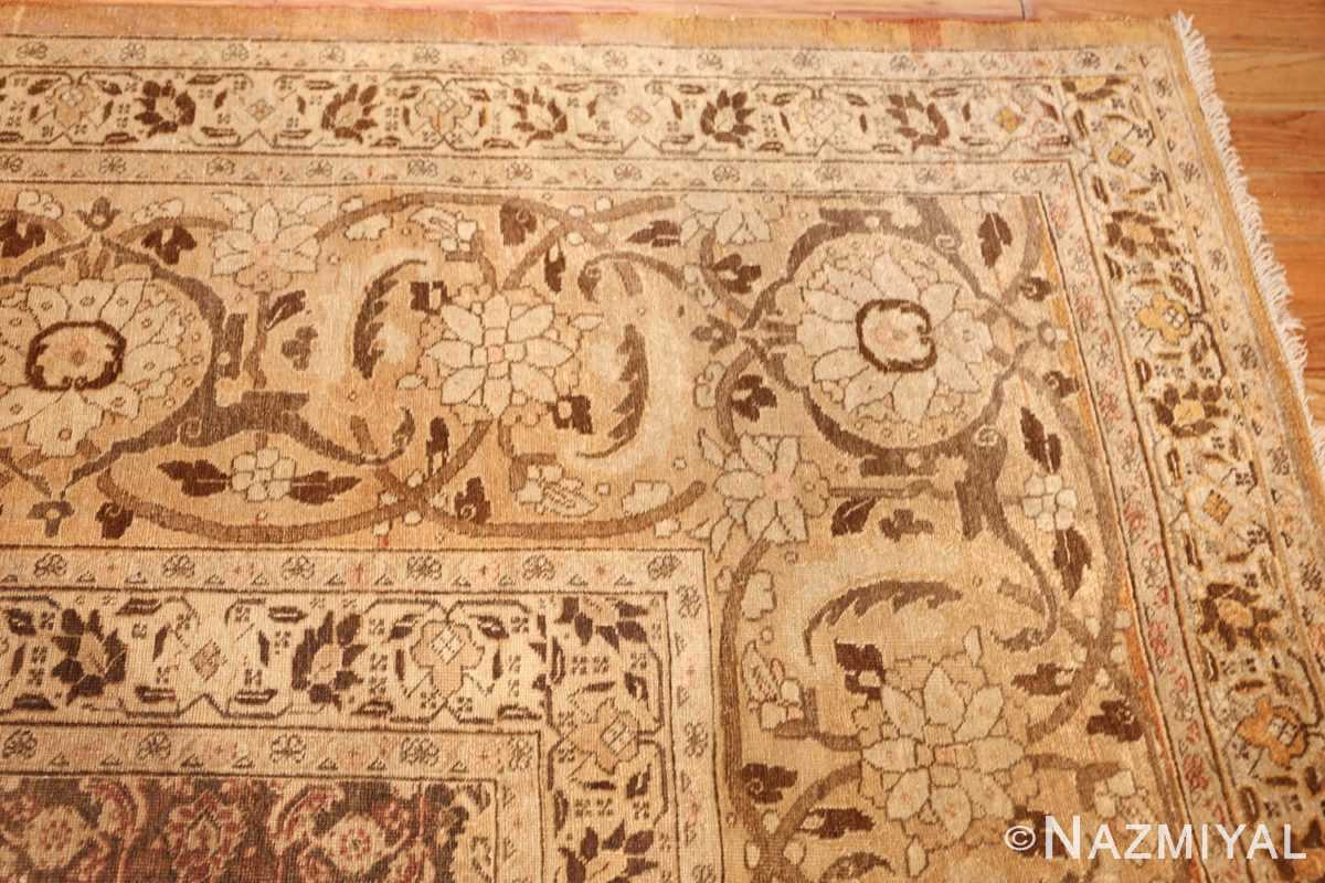 antique persian tabriz rug 50058 corner Nazmiyal