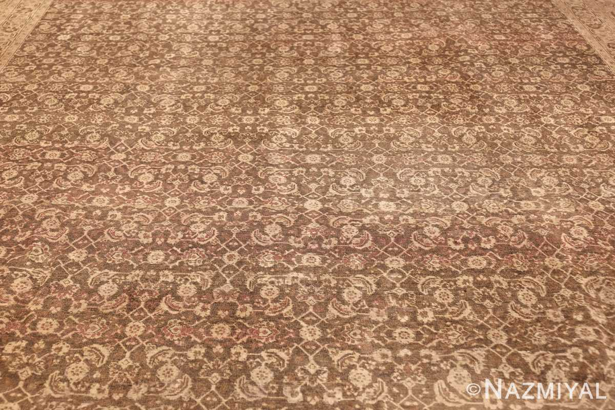antique persian tabriz rug 50058 field Nazmiyal