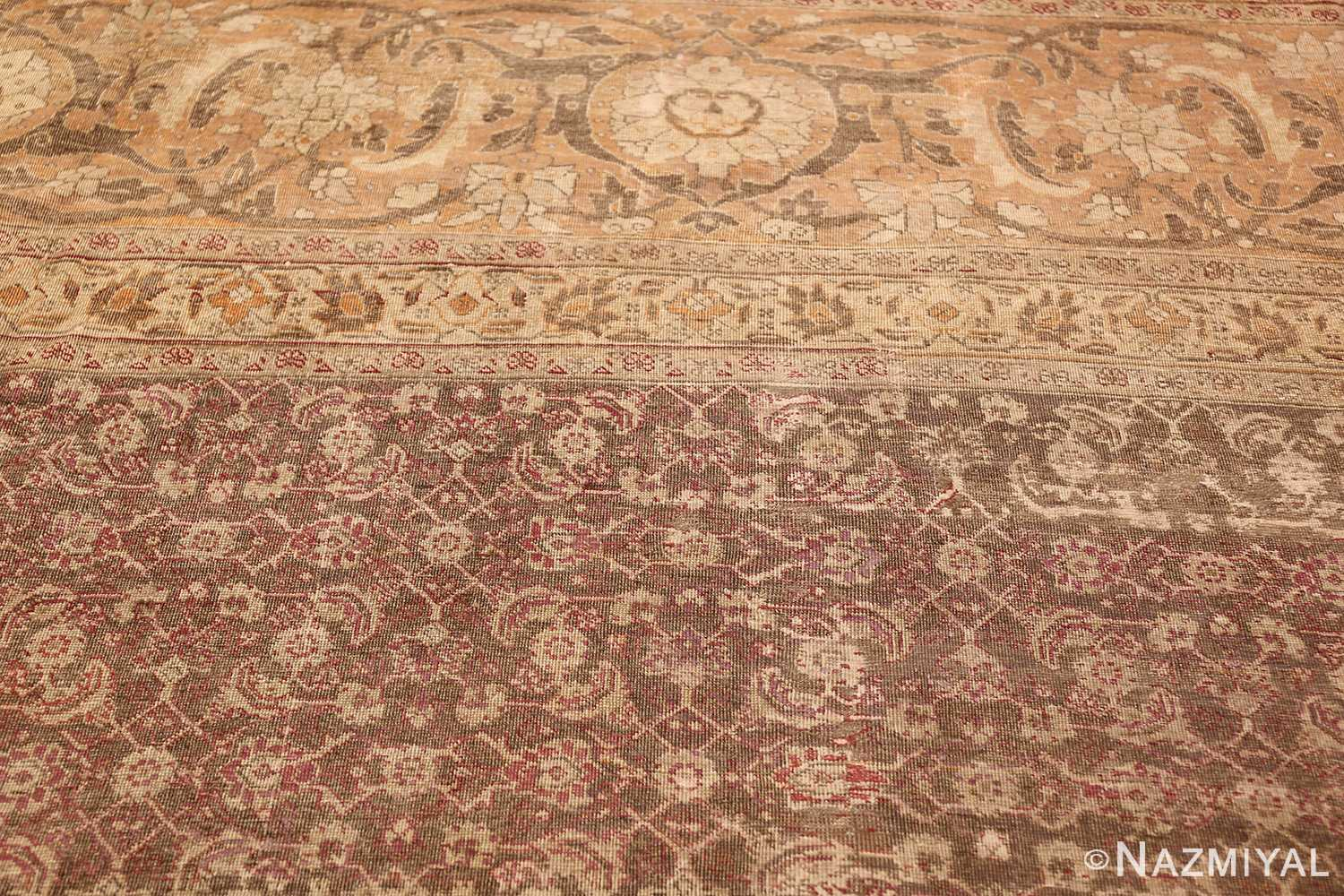 antique persian tabriz rug 50058 top Nazmiyal