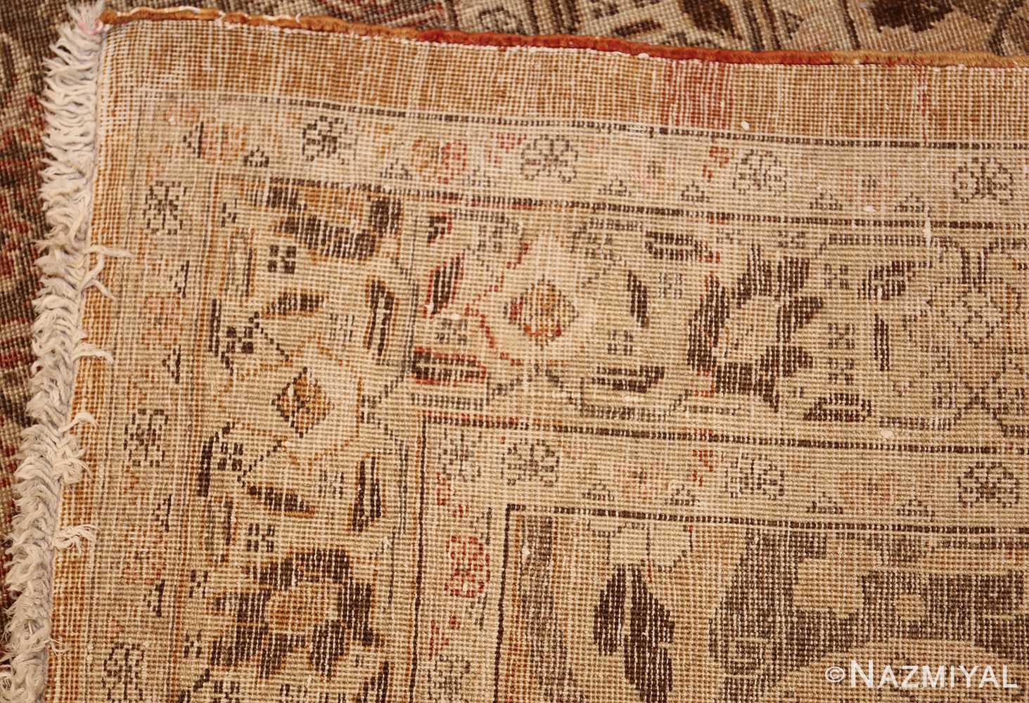 antique persian tabriz rug 50058 weave Nazmiyal