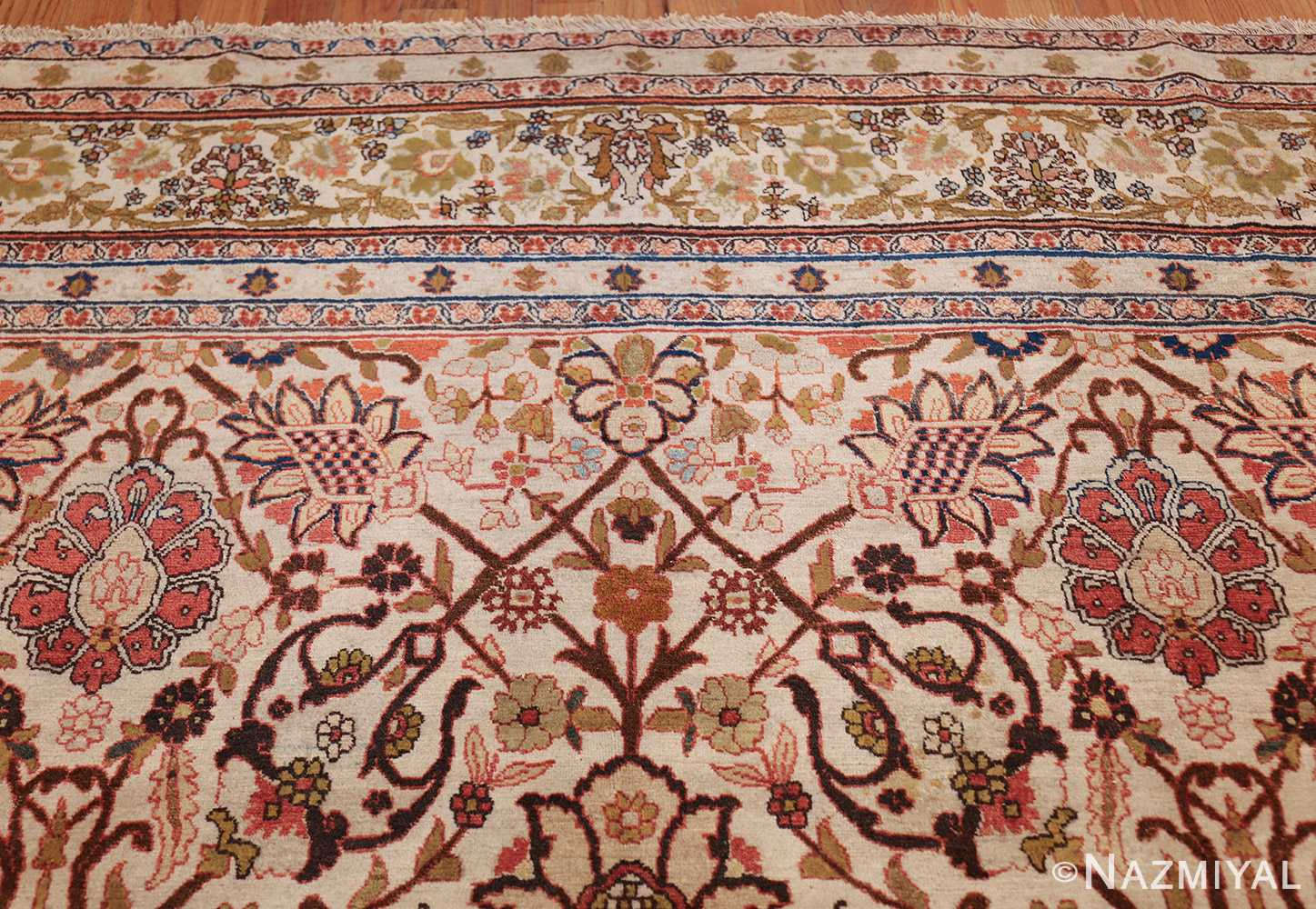 antique persian tabriz rug 50093 top Nazmiyal