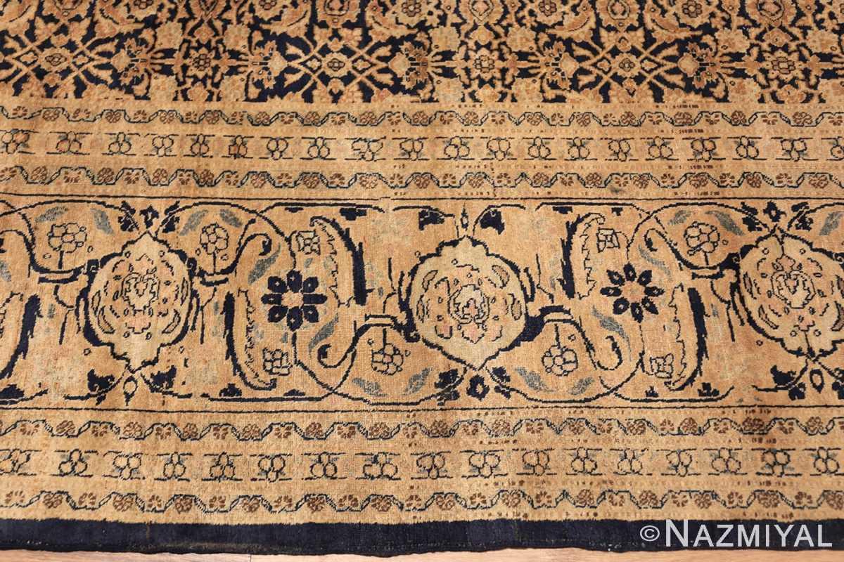 antique persian tabriz rug 50102 borer Nazmiyal