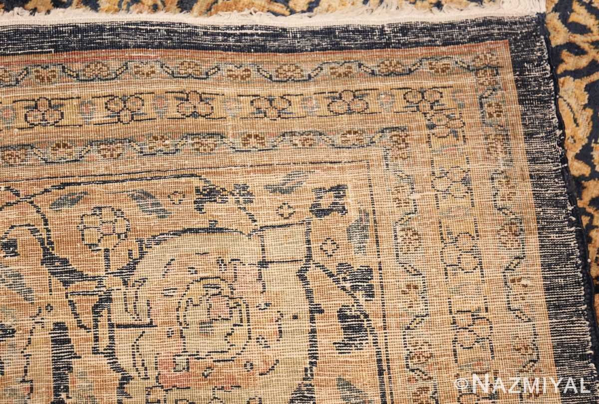antique persian tabriz rug 50102 weave Nazmiyal