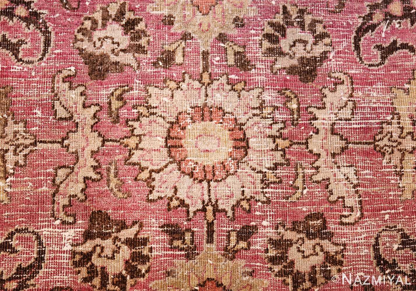 antique shabby chic persian khorassan carpet 48297 ivory Nazmiyal