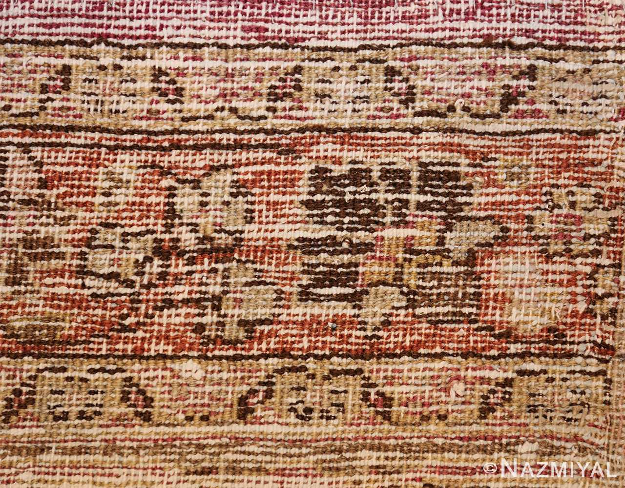 antique shabby chic persian khorassan carpet 48297 knots Nazmiyal