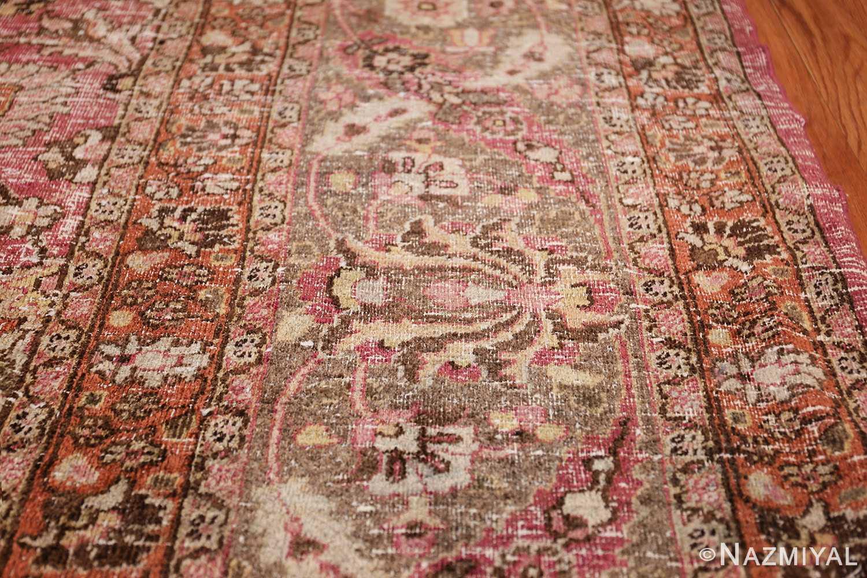 antique shabby chic persian khorassan carpet 48297 pattern Nazmiyal