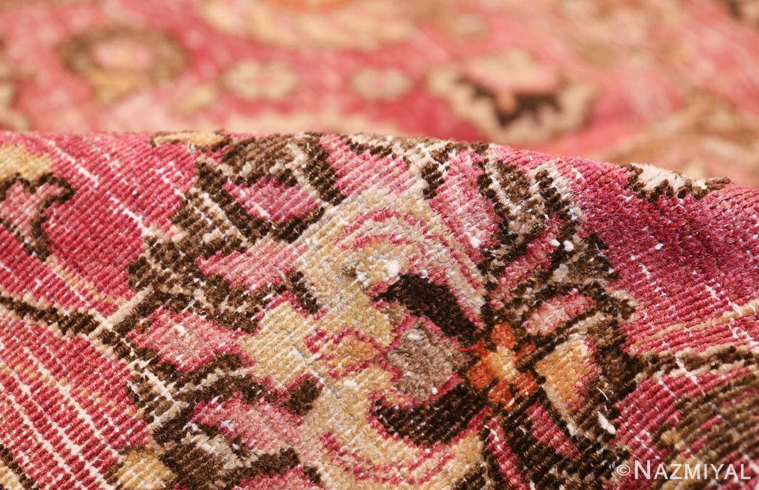 antique shabby chic persian khorassan carpet 48297 pile Nazmiyal