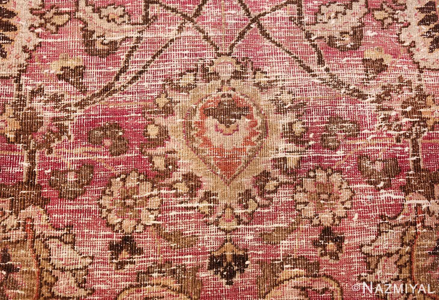 antique shabby chic persian khorassan carpet 48297 vase Nazmiyal