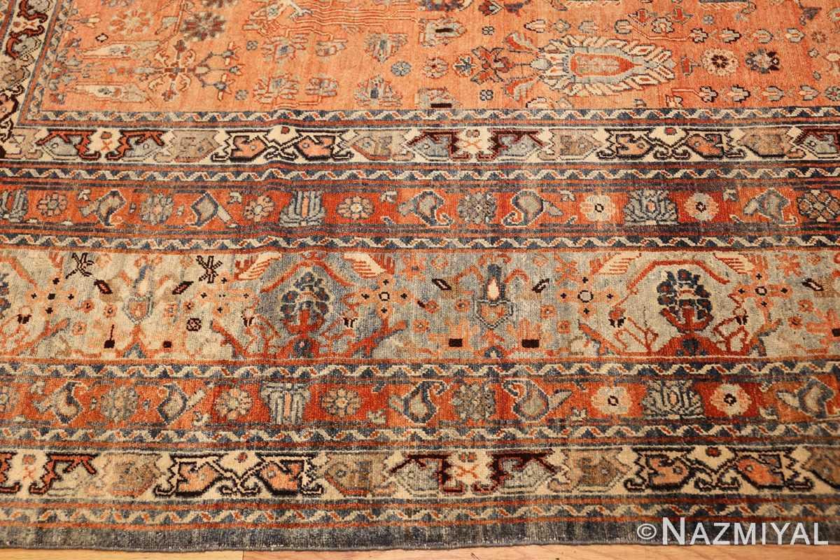antique tribal persian malayer rug 47506 border Nazmiyal