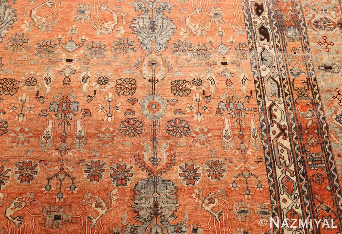 antique tribal persian malayer rug 47506 pattern Nazmiyal