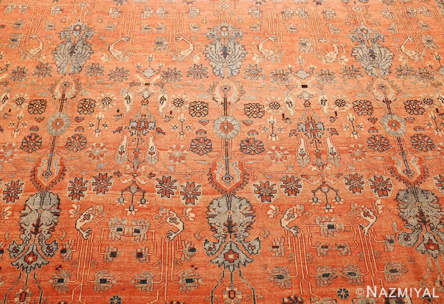antique tribal persian malayer rug 47506 trio Nazmiyal